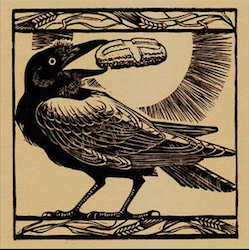 St. Benedict and the Raven